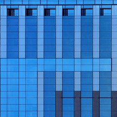 Graphic Architecture (2n2907) Tags: abstract architecture reflection glass office building windows skyscraper graphic geometric geometry pattern lines graphical design blue square squares facade
