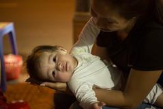 (kuuan) Tags: mf manualfocus penf zuiko penff1440mm 1440mm apsc sonynex5n vietnam saigon night street baby kid takecare