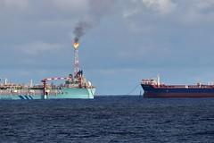 Aoka Mizu and Navion Oceania (Iain Maciver SY) Tags: hurricaneenergy scotland sea tanker oil oilindustry oilexploration lancasterfield bluewater maritime marine