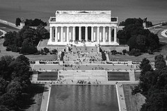 Hey Captain (Thomas Hawk) Tags: america dc districtofcolumbia lincolnmemorial usa unitedstates unitedstatesofamerica washingtondc washingtonmonument architecture bw washington fav10 fav25 fav50 fav100