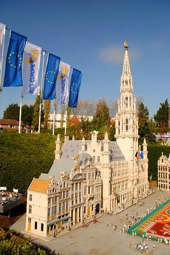 Mini-Europe - Belgium - Hôtel de Ville
