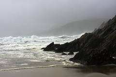 Dingle Peninsula Beach (julie m r1) Tags: ireland waves atlantic rocks stormy