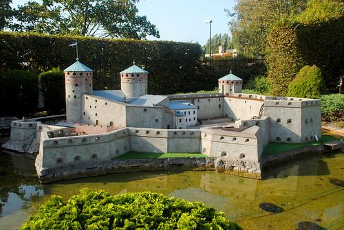 Mini-Europe - Finland - Olavinlinna Castle