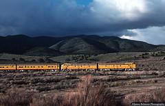 Bright Light (jamesbelmont) Tags: locomotive railway railroad train e9 utah martmar soma leamingtoncanyon streamliner officer passenger unionpacific