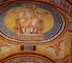Romanesque Fresco (hansjoergBo) Tags: fresco bycantian tradition 900years medieval architecture klosterprüfening regensburg bavaria