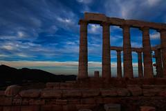 Blue hour (irmur) Tags: blue greece sunset