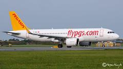 Pegasus, Airbus A320-251N, TC-NBJ, 7703, October 15, 2019 (mhoejte) Tags: copenhagenairport ekch cph airbusneo