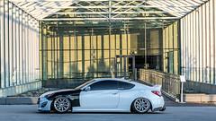Import Expo Toronto - Genesis (HisPhotographs.com) Tags: toronto hyundai genesis lowered modified slammed carbon fiber carbonfiber car shoot mikekdm cne cneexhibition