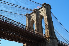 250 Such a Wonderful Day (Eclectic Jack) Tags: september 2019 trip nyc city york new newyorkcity building architect architecture dumbo brooklyn bridge good weather lucky day under up look looking