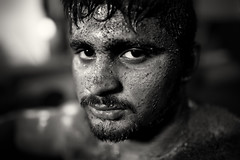 India, traditional mud wrestler (Dietmar Temps) Tags: akhada akhara asia athlets body culture dangal dumbbell fight gada india jori kushti maharashtra mudwrestling mumbai muscles pehlwan pehlwani pune shivramdadatalim southasia talim tradition traditional vyayam wrestler wrestling