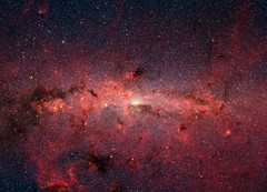 Revealing the Milky Way's Center (NASA's Marshall Space Flight Center) Tags: nasa jpl jetpropulsionlaboratory nasasmarshallspaceflightcenter nasamarshall marshall msfc solarsystembeyond astronomy astrophysics infrared stars spitzerspacetelescope jameswebbspacetelescope galaxy milkyway