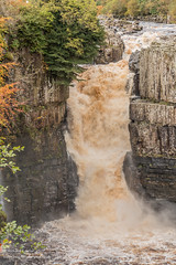 High Force Waterfall Oct 2019 2 (Richard Laidler) Tags: aonb areaofoutstandingnaturalbeauty autumn autumncolour autumncolours autumntints bright countydurham fall forestinteesdale globalgeopark highforce highforcewaterfall landscape longdistance longdistancefootpath northeastengland northpennines northpenninesaonb palesunshine pennine pennineway rivertees teesdale teesdalelandscape upper upperteesdale waterfall waterfalls