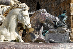Florence Horses (Argentem) Tags: sculpture horses florence italy fountain