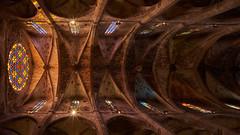 Catedral (ivoräber) Tags: catedral de mallorca spain kirche church window palma