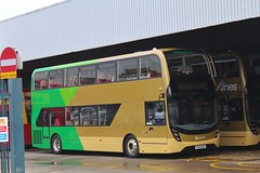 Go North East 6338 / YX69 NPA (TEN6083 (kieron mathews)) Tags: gateshead saltmeadows enviro400mmc trident2 alexanderdennis yx69npa 6334 xlines gonortheast bus buses nebuses transport publictransport
