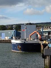 M.V. Shetland Trader  (IMO: 9030486)   General Cargo:  Call Sign:  8PUM  (MMSI:  314257000) Faversham Ships Holland B.V (guyfogwill) Tags: 2019 abp associatedbritishports bateau bateaux boat boats cargoboat cargoship cargovessel coastal coastline devon docks dschx60 england europe flicker fogwill gb gbtnm gbr greatbritan guy guyfogwill harbour imo9030486 marine merchantship merchantvessel mmsi314257000 nautical october river riverteign shetlandtrader sony southwest teignestuary teignbridge teignmouth teignmouthapproaches theshaldives tq14 uk unitedkingdom vessel photo interesting absorbing engrossing fascinating riveting gripping compelling compulsive beach vacances water plage sea ocean