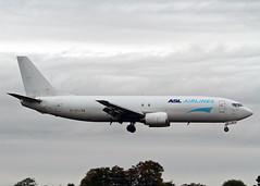 EI-STJ Boeing 737-490 SF ASL Airlines (Keith B Pics) Tags: eistj n788as londonsouthendairport sen egmc boeing737 b737400 amazon vxcapitalpartners