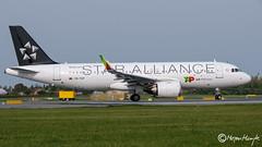 TAP - Air Portugal, Airbus A320-251N, CS-TVF, 9088, Star Alliance, October 15, 2019 (mhoejte) Tags: copenhagenairport ekch cph airbusneo