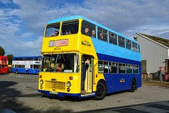 37 NDL637M (PD3.) Tags: bristol vr vrt ecw solent blue line 37 ndl637m ndl 637m isle wight iow hants hampshire england uk great britain newport godshill quay harbour bus buses museum preserved vintage running day rally autumn sunday 12 13 october 2019 southern vectis
