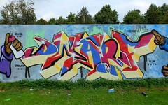 Prinsenpark (oerendhard1) Tags: graffiti streetart urban art rotterdam oerendhard buss 010 honor rip dwarf prinsenpark