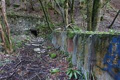 Ruin @ Les Bains de la Caille @ Hike to Gorge des Usses