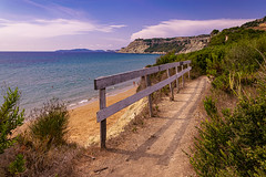 Beachtime (Kai Beinert) Tags: beach strand sea greece meer landschaft landscape colours colourful bunt south mediterran griechenland corfu korfu art beautiful way traveler travel urlaub vacation holiday nature natur coast küste summer sommer