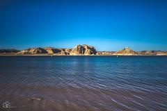 Oasis (*Nafiul*) Tags: lake blue lakepowell utah desert bluesky