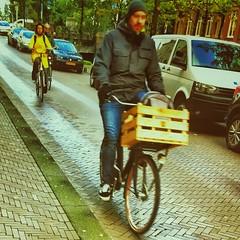 Bike and crate (Ruud Otter) Tags: ride urban iphone crate bike