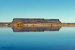 Steamboat Rock (Thank you for 2.9 Million views) Tags: steamboat rock state park washington usa america basin joeinpenticton joe jose garcia banks lake grand coulee dam fall autumn reservoir columbia river steamboatrockstatepark reflection reflections 3