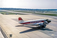 N6 DC3 FAA Dulles 1972 (keithbrooks) Tags: