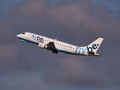 G-FBJH (Flybe) ERJ-175STD (ERJ-170-200) (alex kerr photography) Tags: egcc manchesterairport airport airlines aviation planespotter passengerjet passengerplane airliner