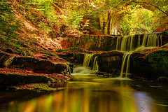 Autumn waterfalls (J.u.l.i.u.s.) Tags: new ngc nature inexplore explore water wasser waterfall waterfalls landscape landscapes rhodope bulgaria forest trees reflections reflection