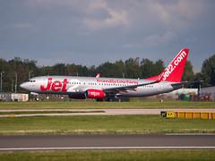 Jet2 Boeing 737 800 (G-DRTF) (alex kerr photography) Tags: egcc manchesterairport airport airlines aviation planespotter passengerjet passengerplane airliner