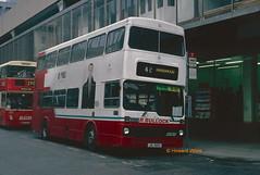 Bullock, Cheadle JIL 8210 (ex JBO 79W) (SelmerOrSelnec) Tags: bullock cheadle mcw metrobus jil8210 jbo79w manchester yorkstreet newport bus