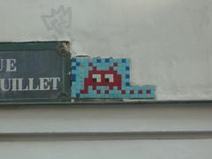 PA 0177 (la mosaïque originale) / Space Invader (Archi & Philou) Tags: spaceinvader streetart pixelart paris01 mosaïque mosaic carreau tiles