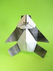 Grumpy panda - Mathieu Gueros (Rui.Roda) Tags: origami papiroflexia papierfalten grumpy panda mathieu gueros