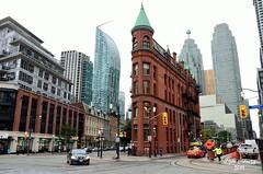 "Toronto - The Gooderham ""Flatiron"" Buiding - 1892 (guidoa58) Tags: guidoa58 viaggio canada ontario toronto metropoli grattacieli architettura street building downtown"