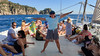 Katamaran dance (piotr_szymanek) Tags: katamaran outdoor water sea marzka lloret lloretdemar costabrava 1k 20f 5k 10k