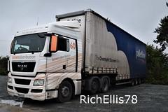 Add Watermark20191015070503 (richellis1978) Tags: truck lorry haulage transport logistics freight cannock man tgx browns 60 mx61eud
