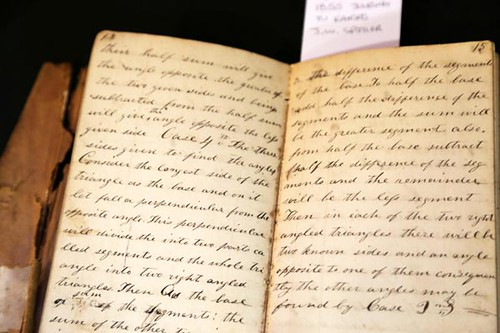 "1855 ""Journey to Kansas Territory"" diary (unfinished) ($358.40)"