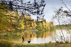 by the lake (outdoorstudio) Tags: ©jetteoutdoorstudiodk ©jettewfrederiksen skov forest ©outdoorstudiodk svampetur fall efterår lake sø autumn