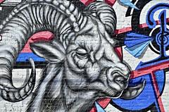 Roadhouse Ram (pjpink) Tags: vcu fandistrict thefan rva richmond virginia may 2019 spring pjpink 2catswithcameras mural