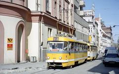 2003-07-11 Plzeň Tramway Nr.260 (beranekp) Tags: czech plzeň pilsen tramvaj tramway tram tranvia strassenbahn šalina t3 elektrika električka 260