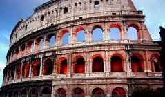 Colosseum, Rome (feray umut) Tags: travel architecture history landscape landscapes culture sunset