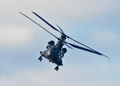 Lifter 1 (np1991) Tags: royal air force raf lossiemouth lossie moray scotland united kingdom uk nikon digital slr dslr d7200 camera nikor 70200mm vibration reduction vr f28 lens aviation planes aircraft boeing ch47 chinook helicopter helo chopper