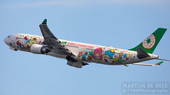 B-16333 (Tynophotography (Martijn de Heer)) Tags: a330 a330300 a333 air airbus b16333 eva hello kitty livery