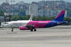 Airbus A320-232 HA-LWF Wizz Air (EI-DTG) Tags: sofia bulgaria a320 sof airbus320 wizz halwf 22jun2019