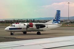 Antonov 26 YL-RAC RAF Avia (EI-DTG) Tags: sofia bulgaria 22jun2019 sof ylrac antonov an26 turboprop