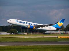 Thomas Cook Airlines Airbus A330-243 G-CHTZ (alex kerr photography) Tags: egcc manchesterairport airport airlines aviation planespotter passengerjet passengerplane airliner