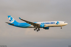 airbus A330-300 Air Caraibes (F-HPUJ) (lucas slow) Tags: avions ciel cockpit photo spotting airport chr lflx châteauroux turboréacteurs propeller winglets roues takeoff landing taxiing airbus a330300 a330 a333 air caraibes fhpuj